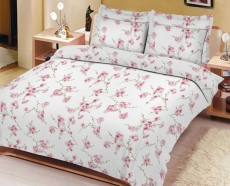 Постільна білизна Viluta - Ранфорс - Сакура розова (двоспальний)