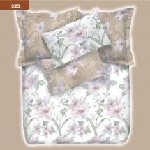 Постельное белье Viluta - Ранфорс-платинум - 323 (двуспальный)