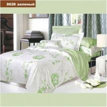 Постельное белье Viluta - Ранфорс - 8626 Зеленый (семейный)