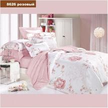 Постільна білизна Viluta - Ранфорс - 8626 Розовий (сімейний)