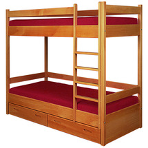 Двухъярусная детская кровать Пурий-Мастер - Сонько - 80x200 (бук)