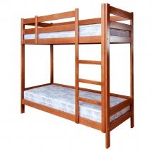 Двоярусне дитяче ліжко Пурій-Майстер - Барвінок - 80x200 (бук)