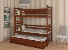 Трехярусная детская кровать Дримка - Шрек трио 80х200