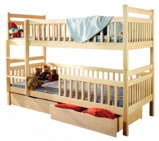 Двухярусная детская кровать Дримка - Том и Джерри 90x190