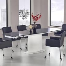 Стол стеклянный раскладной HALMAR - ANDERSON