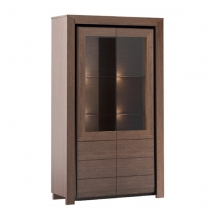 Вітрина 2-х дверна MEBIN - Sempre - 2DS2D