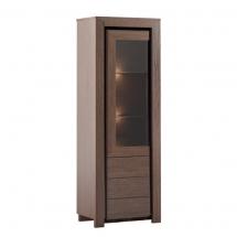 Вітрина 1-но дверна MEBIN - Sempre - lewa 1DS1D