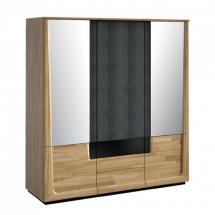 Шафа 3-х дверна MEBIN - Maganda - Szafa 3D