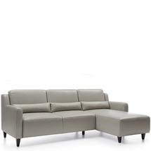 М'який куток Etap Sofa - Cabo - 2,5F-REC/BK