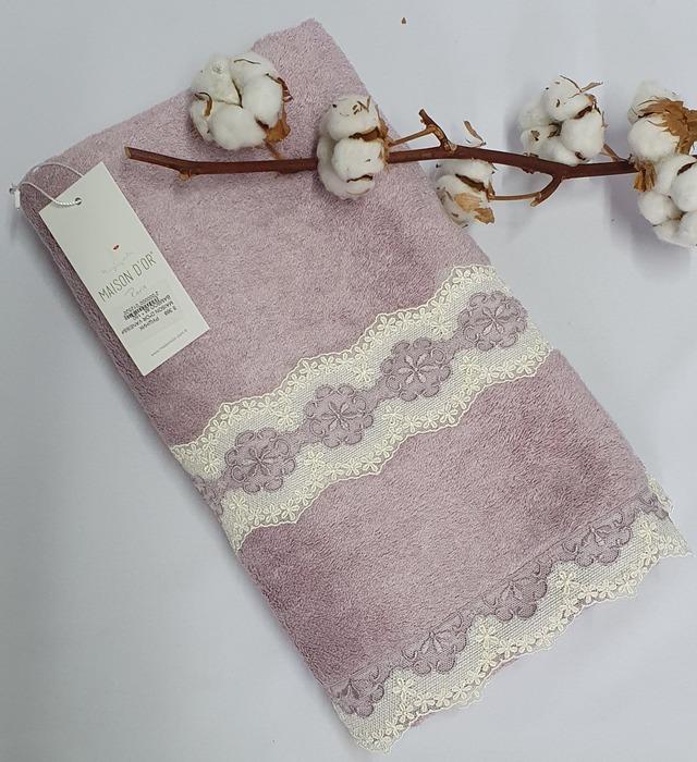 Полотенце махровое Maison D'or Vanessa 85x150 Violet
