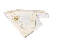 Полотенце махровое Maison D'or Elegance Marine 50x100 White