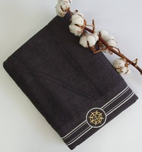 Полотенце махровое Maison D'or Elegance Marine 85x150 Antracite