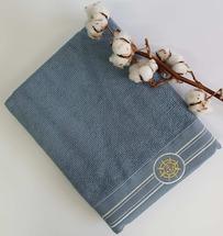 Полотенце махровое Maison D'or Elegance Marine 85x150 Blue