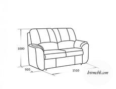 Шкіряний диван Vero - Anturio - Sofa 2