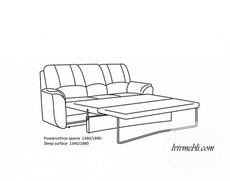 Шкіряний диван Vero - Anturio - Sofa 3R