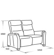 Шкіряний диван Vero - Narciso Bianco - Sofa 2