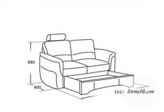 Шкіряний диван Vero - Amarylis - Sofa 2S