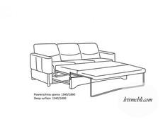 Шкіряний диван Vero - Primula - Sofa 3R