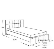 Ліжко VERO - Lilium - Lozko 160