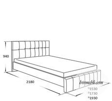 Ліжко VERO - Lilium - Lozko 180
