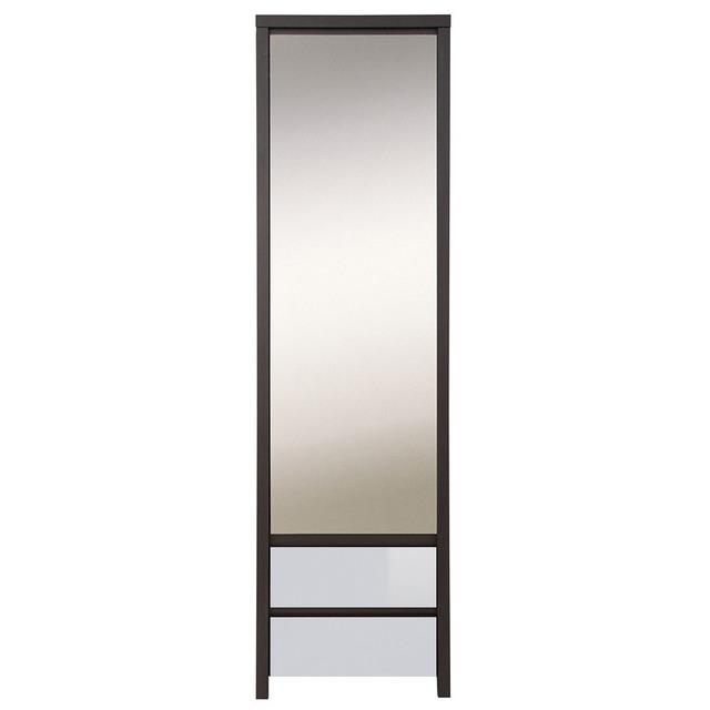 Шафа висока з дзеркалом BRW - Kaspian - SZF1D2SP