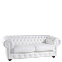 Шкіряний диван розкладний Pyka - CHESTERFIELD - Sofa 3r