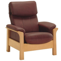 Шкіряне крісло Pyka - CHICAGO - Fotel