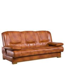 Шкіряний диван розкладний Pyka - FINKA Z LISTWA - Sofa 3r