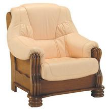 Шкіряне крісло Pyka - ADAM - Fotel