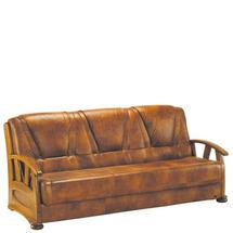 Шкіряний диван розкладний Pyka - ALICJA II - Sofa 3r