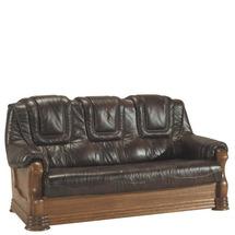 Шкіряний диван розкладний Pyka - ANETA II - Sofa 3r