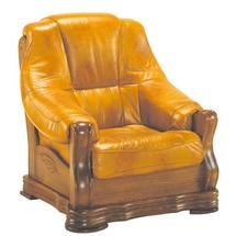 Шкіряне крісло Pyka - BOZENA - Fotel