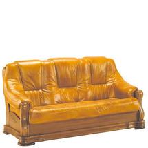 Шкіряний диван розкладний Pyka - BOZENA - Sofa 3r