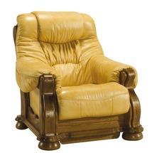 Шкіряне крісло Pyka - CEZAR I - Fotel