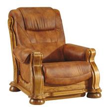 Шкіряне крісло Pyka - CEZAR II - Fotel