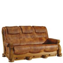 Шкіряний диван розкладний Pyka - CEZAR II - Sofa 3r