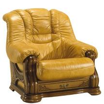 Кожаное кресло Pyka - CHEVERNY - Fotel