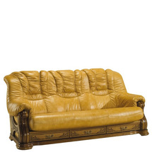 Кожаный диван Pyka - CHEVERNY - Sofa 3n