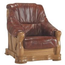 Кожаное кресло Pyka - FRYDERYK I - Fotel