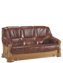 Шкіряний диван розкладний Pyka - FRYDERYK I - Sofa 3r