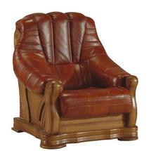 Шкіряне крісло Pyka - FRYDERYK II - Fotel