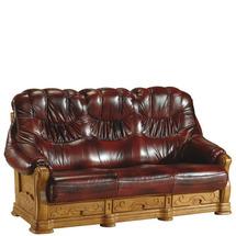 Шкіряний диван розкладний Pyka - KEVIN - Sofa 3r