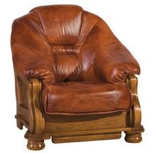 Кожаное кресло Pyka - LORD - Fotel