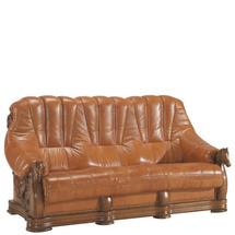 Шкіряний диван розкладний Pyka - OSKAR - Sofa 3r