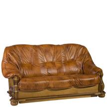 Шкіряний диван розкладний Pyka - PARYS - Sofa 3r