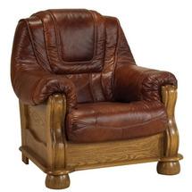 Шкіряне крісло Pyka - ROMA - Fotel