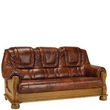 Шкіряний диван розкладний Pyka - ROMA - Sofa 3r