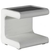 Тумба прикроватная кожаная Helvetia Furniture - Solaris