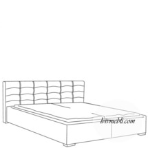 Ліжко VERO - Rosmarino TYP 02 - Lozko 160
