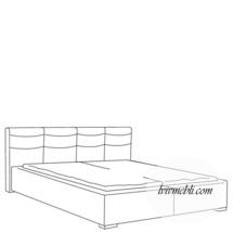 Ліжко VERO - Rosmarino TYP 03 - Lozko 140